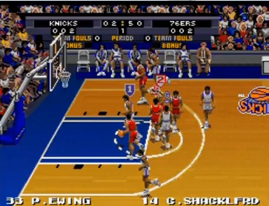 テクモスーパーNBAバスケットボール