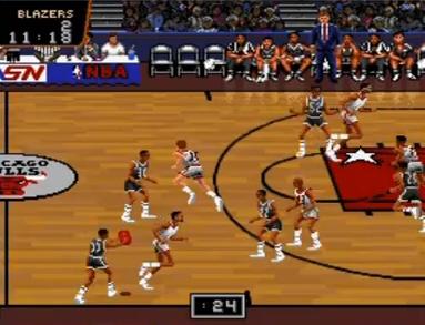 NBAプロバスケットボール ブルズVSブレイザーズ