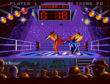 スーパーキックボクシング