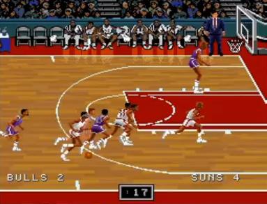 NBAプロバスケットボール94 ブルズVSサンズ