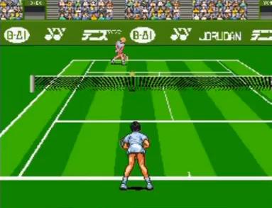 伊達公子のバーチャルテニス
