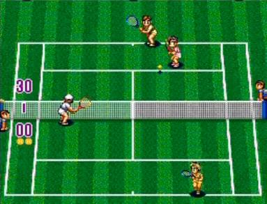 スーパーファイナルマッチテニス