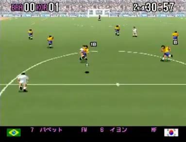 スーパーフォーメーションサッカー94〜ワールドカップファイナルデータ〜